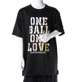 チャンピオン Champion ジュニア バスケットボール 半袖Tシャツ CK-JB308 (ブラック)