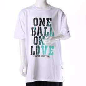 チャンピオン Champion ジュニア バスケットボール 半袖Tシャツ CK-JB308 (ホワイト×ブラック)