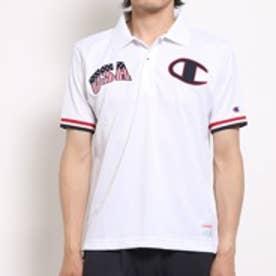 チャンピオン champion 半袖ポロシャツ CH CT1901USAMロコ ホワイト