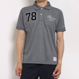 チャンピオンChampion半袖ポロシャツCHCT1902モクBDブラック