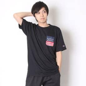 チャンピオン Champion Tシャツ DRYSAVER TEE C3-HS331 (ブラック)