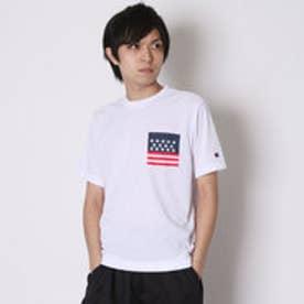 チャンピオン Champion Tシャツ DRYSAVER TEE C3-HS331 (ホワイト)