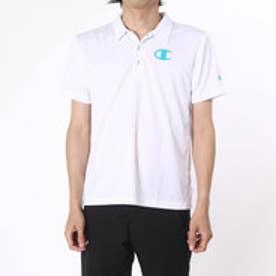 チャンピオン Champion ポロシャツ  CHスC3-HS357  (ホワイト)