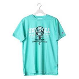 チャンピオン Champion メンズ バスケットボール 半袖Tシャツ C3-JB311 (ミント)