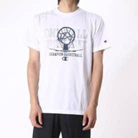 チャンピオン Champion メンズ バスケットボール 半袖Tシャツ C3-JB311 (ホワイト)