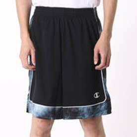 チャンピオン Champion メンズ バスケットボール ハーフパンツ C3-JB552 (ブラック×シルバー)