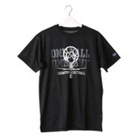 チャンピオン Champion メンズ バスケットボール 半袖Tシャツ C3-JB311 (ブラック)