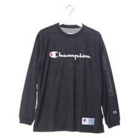 チャンピオン Champion メンズ バスケットボール 長袖Tシャツ C3-JB450 (ブラック)