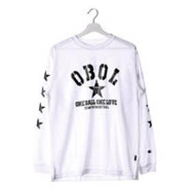チャンピオン Champion メンズ バスケットボール 長袖Tシャツ C3-JB402 (ホワイト)
