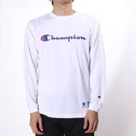 チャンピオン Champion メンズ バスケットボール 長袖Tシャツ C3-JB450 (ホワイト)