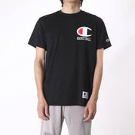 チャンピオン Champion メンズ バスケットボール 半袖Tシャツ C3-JB350 (ブラック)