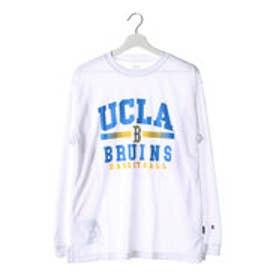 チャンピオン Champion メンズ バスケットボール 長袖Tシャツ C3-JB460 (ホワイト)