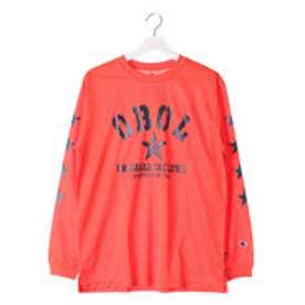 チャンピオン Champion メンズ バスケットボール 長袖Tシャツ C3-JB402 (バーミリオン)