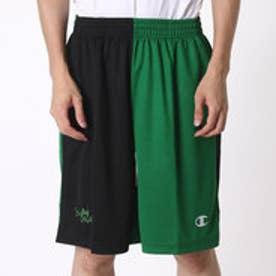 チャンピオン Champion メンズ バスケットボール ハーフパンツ PRACTICE PANTS C3-HB504 (ブラック)