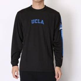 チャンピオン Champion バスケットボールTシャツ UCLAロングスリーブTシャツ C3-G4412 ブラック (ブラック)