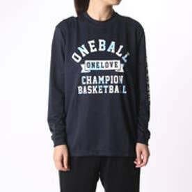 チャンピオン Champion レディース バスケットボール 長袖Tシャツ CW-JB401 (ネイビー)