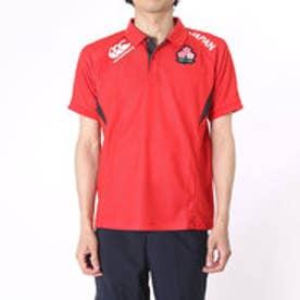 カンタベリー CANTERBURY ラグビープラクティスシャツ JAPAN POLO  R36009J  (レッド)
