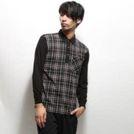 コラッジオ CORAGGIO ゴルフシャツ CR-1L1545P ブラック (ブラック)