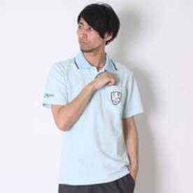 コラッジオ CORAGGIO ゴルフシャツ  CR-1H1006P ブルー (ペールブルー)
