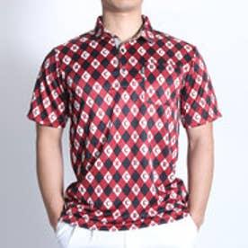 コラッジオ CORAGGIO ゴルフシャツ  CR-1H1026P レッド (ワイン)