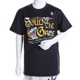 コンバース CONVERSE ジュニアバスケットボールシャツ ジュニアプリントTシャツ CB461304    (ネイビー)