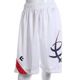 コンバース CONVERSE ジュニアバスケットボールパンツ ジュニアプラクティスパンツ CB461804    (ホワイト)