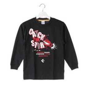 コンバース CONVERSE ジュニア バスケットボール 長袖Tシャツ JRプリントロングスリーブ CB462304L