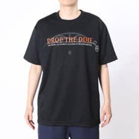 コンバース CONVERSE バスケットボールTシャツ プリントTシャツ CB261314    (ブラック)