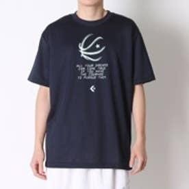 コンバース CONVERSE バスケットボールTシャツ プリントTシャツ CB261311    (ネイビー)