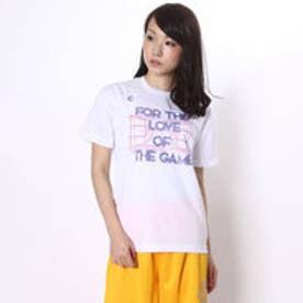 コンバース CONVERSE バスケットボールTシャツ ウィメンズプリントTシャツ CB361305    (ホワイト)