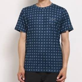 コロンビア columbia アウトドアTシャツ バイウェイバズショートスリーブクルー PM1164 ネイビー