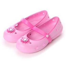 クロックス crocs サンダル CRキーリーペタPK     CRキーリーペタPK     ピンク なし (ピンク)