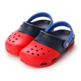 クロックス crocs ジュニアサンダル Electro 2.0 Clog Red/Navy C10 15608-639-C10 (レッド/ネイビー)