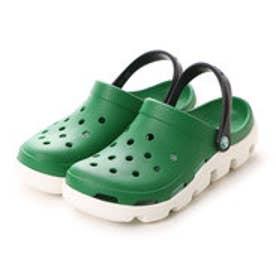 クロックス crocs サンダル  CRデュエット GR グリーン (グリーン)