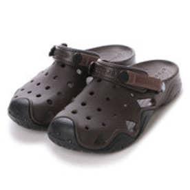 クロックス crocs メンズ スポーツサンダル Swiftwater Clog 202251 (Espresso/Black)