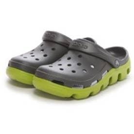 クロックス crocs サンダル デュエットスポーツクロッグ Duet Sport Clog 11991-0A1 グレー