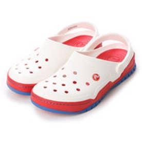 クロックス crocs サンダル Front Court Clog White/Red M10/W12 14300-119-M10W12 (ホワイト/レッド)