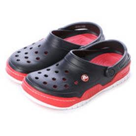 クロックス crocs サンダル Front Court Clog Black/Red M10/W12 14300-063-M10W12 (ブラック/レッド)