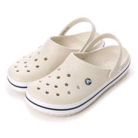 クロックス crocs ユニセックス クロッグサンダル Crocband 11016-171 (Stucco/White)