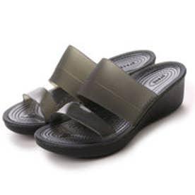 クロックス crocs サンダル  CRカラーウェッシBK ブラック (ブラック)