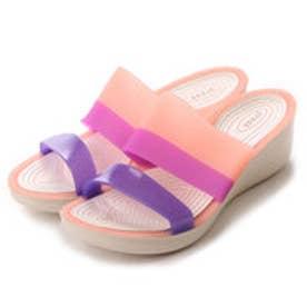 クロックス crocs サンダル  CRカラーウェッシPK ピンク (ピンク)