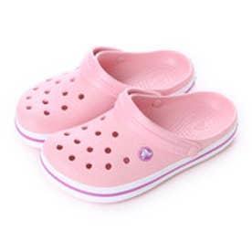 クロックス crocs サンダル Crocband? Pearl Pink/Wild Orchid M4/W6 11016-6MB-M4W6 (パール ピンク/ワイルド オーキッド)