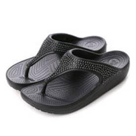 クロックス crocs サンダル  203128-001 (ブラック)