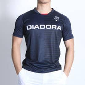 ディアドラ Diadora テニスTシャツ プラクティスシャツ TP6534 ネイビー (ネイビー)