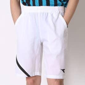 ディアドラ Diadora テニスパンツ ゲームパンツ TG6434 ホワイト (ホワイト×ブラック)