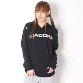 ディアドラ Diadora テニス用スウェット マルチスウェットフーディージャケット AP6105 ブラック (ブラック)