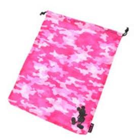 ディズニー Disney シューズ袋 DSシューフMK3242PK5 ピンク (ピンク×ブラック)
