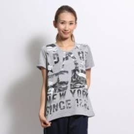 ダンスキン DANSKIN Tシャツ ルーズT DB75319 グレー (グレー)