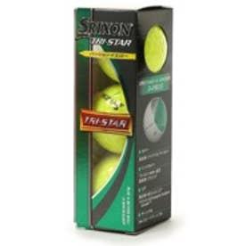 ダンロップ Dunlop ゴルフボール SRIXON スリクソン TRI-STAR プレミアムパッションイエロー
