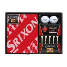 ダンロップ Dunlop コンペギフト SRIXON スリクソン Z-STAR XV4 ウォッシュタオル、クリップ、マーカー、ウッドティ、ボール GGF-F2070